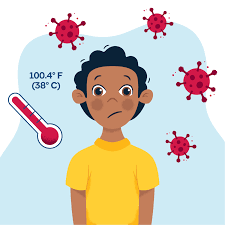 low grade fever and body aches