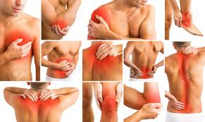 aches in different parts of body