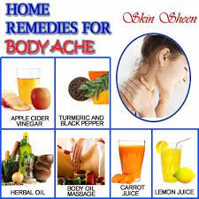 how remedies for body ache