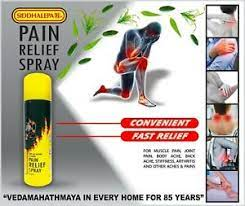 body ache spray