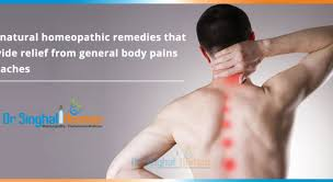 body ache treatment in homeopathy